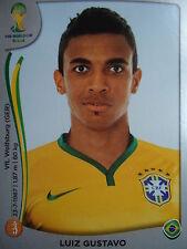 Panini 42 Luiz Gustavo Brasil FIFA WM 2014 Brasilien