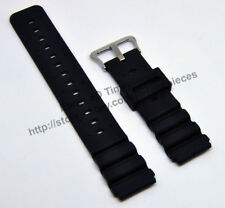 20mm Black watch band / strap compatible for Casio DW-400 DW-403 DW-6400 DW-4000