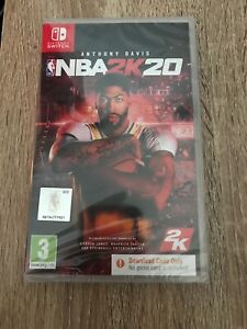NBA 2K20 NINTENDO SWITCH Code in a Box New and Sealed Basketball 2020