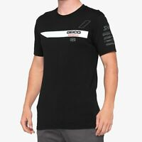 100% 2020 Men's Iconoclast Geico/Honda Short Sleeve T-Shirt Black All Sizes