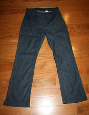 Old Navy Denim Jeans Womens Size 8 100% Cotton Dark Wash Straight Leg (A22)