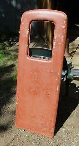 Vintage Wayne 80 / MS-80  Gas Pump Door Martin Schwartz Good One #1