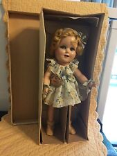 """13"""" Flirty eyed Ideal Composition BEAUTIFUL SHIRLEY TEMPLE with original clothes"""