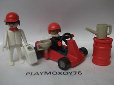 PLAYMOBIL. TIENDA PLAYMOXOY76. COCHE DE CARRERAS ANTIGUO REF. 3523.