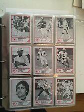 1983 Jogo CFL football rare quarterbacks cards set