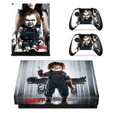 Curse of Chucky Vinyl Skin Decals Stickers for Xbox one X Console Controllers