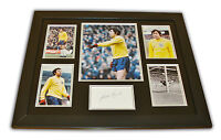 Gordon Banks Signed Photo Large Framed England World Cup Autograph Display COA