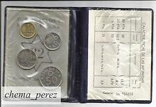 // Cartera pruebas numismaticas 1980 *82 Flor cuño Futbol numerada\