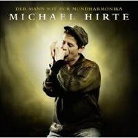 """MICHAEL HIRTE """"DER MANN MIT DER MUNDHARMONIKA"""" CD NEU"""