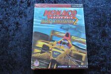 Monaco Gran Prix  Racing Simulation 2 Big Box PC Game New Sealed