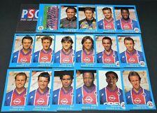 PANINI FOOT 96 PARIS SAINT-GERMAIN PSG COMPLET FOOTBALL SAISON 1995-1996