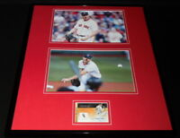 Chris Sale Signed Framed 16x20 Photo Display TOPPS Red Sox