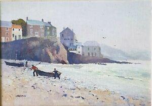Vintage Oil Painting, Landscape / Seascape, Signed, British, Cornwall England.