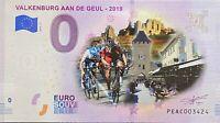 BILLET 0  EURO VALKENBURG AAN DE GEUL COULEUR PAYS BAS 2019 NUMERO DIVERS
