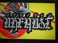 Black Metal Patch Shape Urfaust The Devil's Blood White