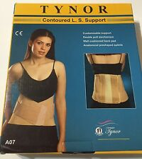 Tynor Orthopedic Contoured L S Belt Back Support Small Size. A07