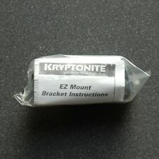 Kryptonite EZ Mount D-lock mounting bracket