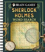 Brain Games - Sherlock Holmes Word Search by Publications International Ltd.