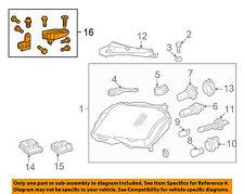 MERCEDES OEM 13-15 GLK350 Headlamp-Front Lamps-Repair Kit Left 2048201314