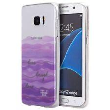 Carcasas Para Samsung Galaxy S7 edge color principal transparente para teléfonos móviles y PDAs