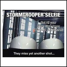 "Fridge Fun Refrigerator Magnet STAR WARS: STORMTROOPER ""SELFIE"" Funny"
