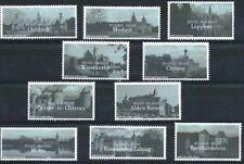 Belgium**CASTLES-10stamps-Kastelen-CHATEAUX-2002-Schloesser-MNH-Castelli