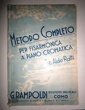 Aldo Ratti#METODO COMPLETO PER FISARMONICA A PIANO CROMATICO#G.Rampoldi