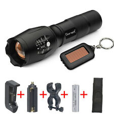 G700 X800 Tactical Flashlight LED Military ShadowHawk Key chain battery charger