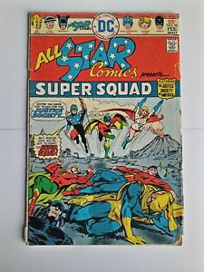 All star comics 58 first power girl appearance 1976
