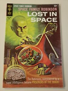 Space Family Robinson Lost In Space #27( Gold Key April 1968). FN- 55 or UP! WP!