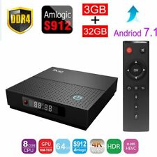 TX92 TV Box Android 7.1.2 BT4.1 3GB+32GB Octa Core 4K Smart Set-top Box