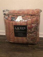 Brand New Ralph Lauren Full/Queen Reversible 3 Pc Comforter Set