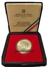 LOTTA CONTRO IL CANCRO 500 LIRE 1989 ARGENTO REPUBBLICA ITALIANA