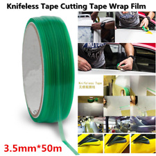 164 Ft Line Knifeless Vinyl Wrap Cutting Tape 50M Roll Create Striping DIY Tool