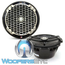 "ROCKFORD FOSGATE PM282B Negro PUNCH 8"" 2WAY 1"" altavoces Tweeters barco Marina Nuevo"