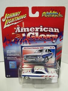 Johnny Lightning 1963 Ford Galaxie 500 American Glory No 18 - MOC (AG)