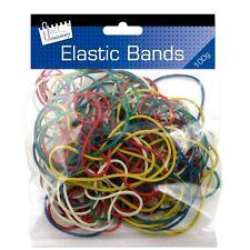 Bandas de goma elásticas fuerte 100g Longitudes & Colores Surtidos para uso Multipropósito