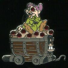 Seven Dwarfs Mine Train Car Mystery Dopey Disney Pin 99936