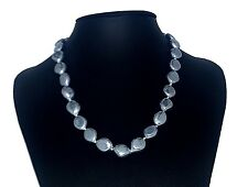 Grey Colour Shell Pearl Necklace