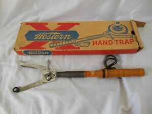 Vintage Western Hand Trap, Winchester - Western Division, Olin In Box. USA