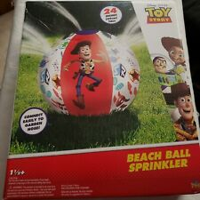 Imperial Disney Toy Story 4 Inflatable Beach Ball Sprinkler Kids Outdoor Fun NEW