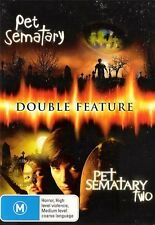PET SEMATARY 1 / PET SEMETARY 2 : NEW DVD