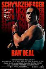 Raw Deal Poster 01 A3 Box Canvas Print