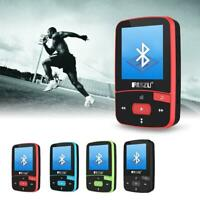 RUIZU X06 FM Music Record 8G Flash TF Card Running Sport Bluetooth MP3 Player BG