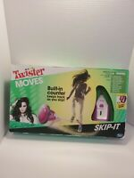 Twister Moves Skip-It Demi Lovato Built-in Counter Hasbro Game IN OPEN BOX