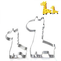 Animal Giraffe Cookie Biscuit Cutter Cake Pastry Bread Mould Mold Baking Tool -