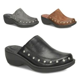 """AS IS"" Born Majesty Leather Studded Clog (628537-K)"