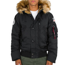 Alpha Industries Herren Winterjacke Polar SV schwarz