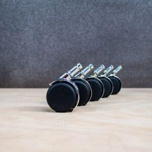 Vitra Rollen Set für weiche Böden Weichboden Bürostuhl Lenkrolle Eames (5 Stück)