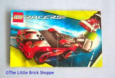 LEGO RACERS 8227 Dragon Dueler-solo libro di istruzioni-no LEGO mattoni incluso